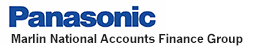 Panasonic Financing provided by Marlin National Accounts Finance Group.