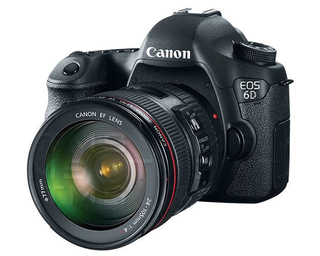 Canon EOS 6D Digital Camera w/ 24-105mm IS Lens - 8035B009