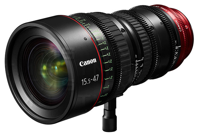 Canon CN-E15.5-47mm T2.8 L S Cinema Lens - 7622B001