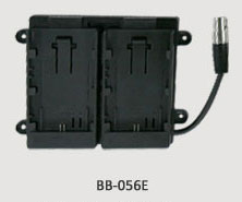 TVLogic BB-056E: Dual Canon LP-E6 Battery Bracket for VFM-056 Monitors
