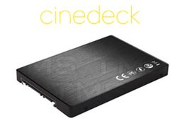 Cinedeck FullStream Software with 256 SSD Media Suite (CDK-E3R1FSU-02)