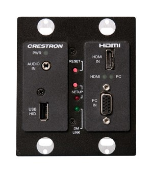 Crestron DM-TX-200 Wall Plate DigitalMedia CAT Transmitter 200