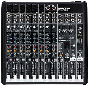 Mackie ProFX12 Compact Effects Mixer with USB