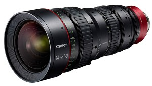Canon CN-E14.5-60mm T2.6 L SP Cinema Lens PL Mount - 6141B001