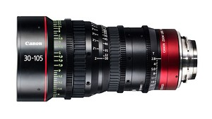 Canon CN-E30-105mm T2.8 L S PL-Mount Cinema Lens - 7623B001