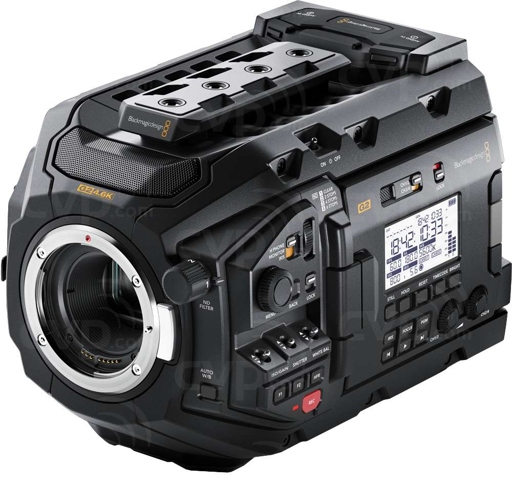 Blackmagic URSA Mini Pro 4.6K G2 - CINEURSAMUPRO46KG2