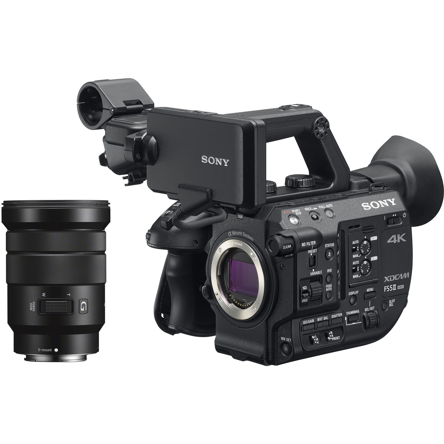 Sony 4K XDCAM Super 35mm Compact Camcorder with 18 to ...