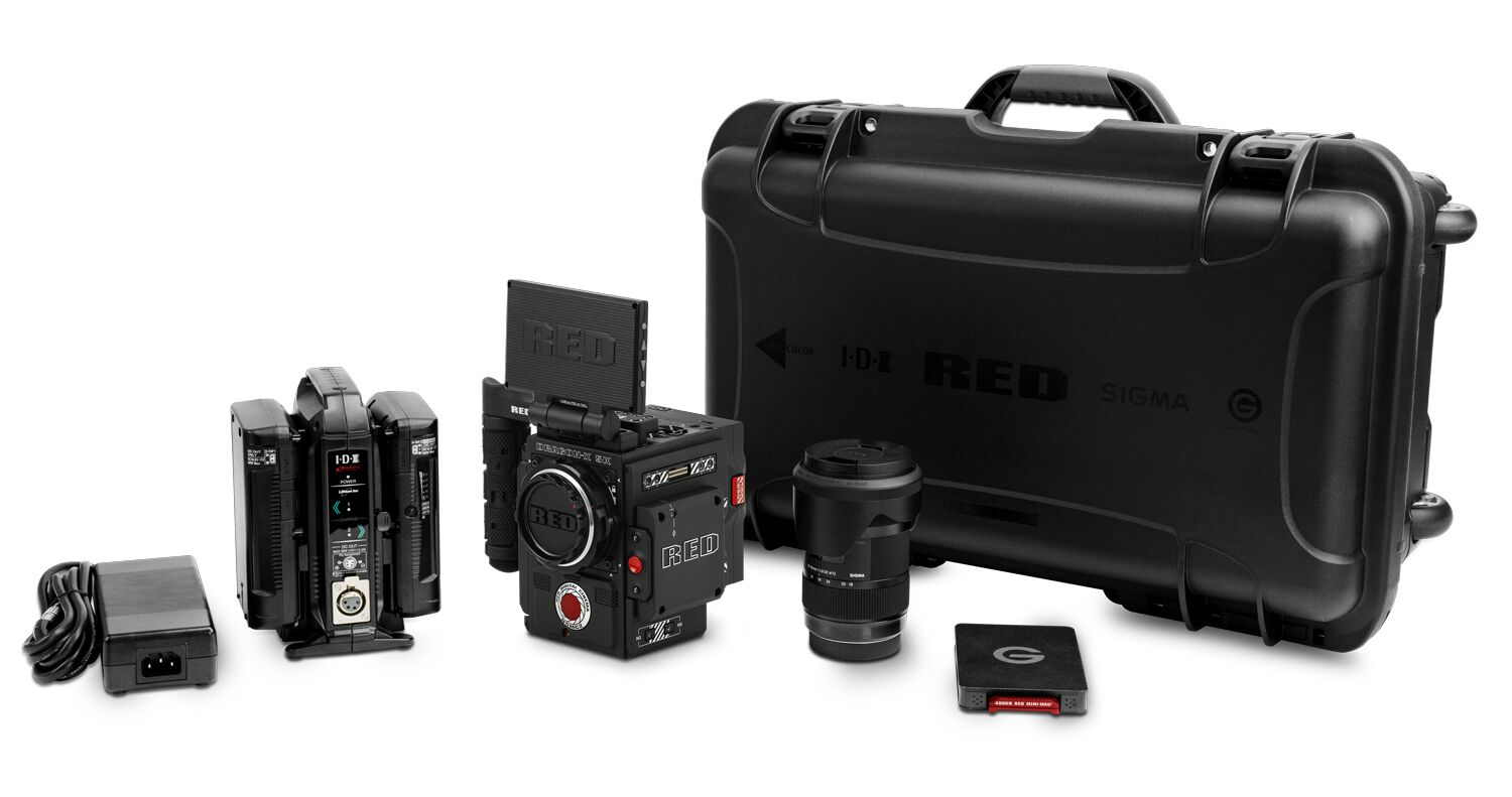 RED DIGITAL DSMC2 DRAGON-X CAMERA KIT - 710-0318