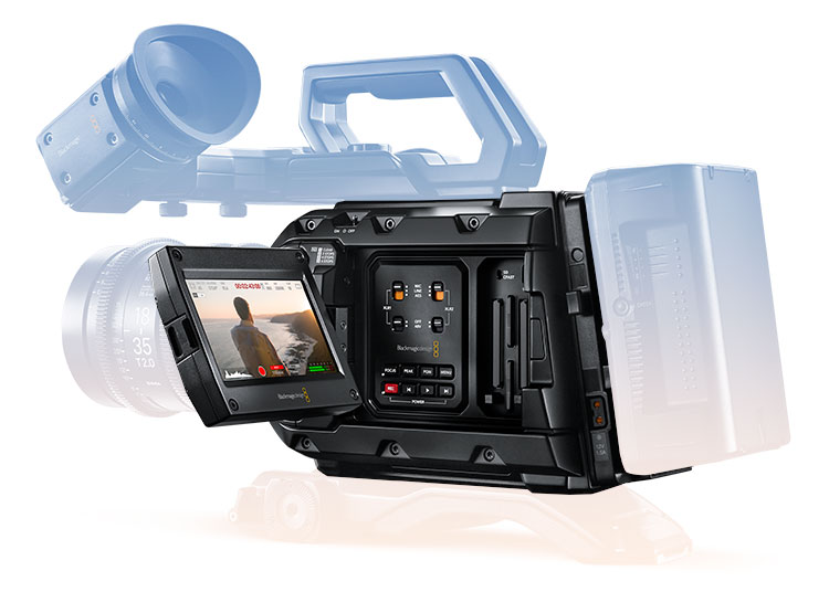 Blackmagic Design URSA Mini Pro 4 6K Digital Cinema Camera -  CINEURSAMUPRO46K