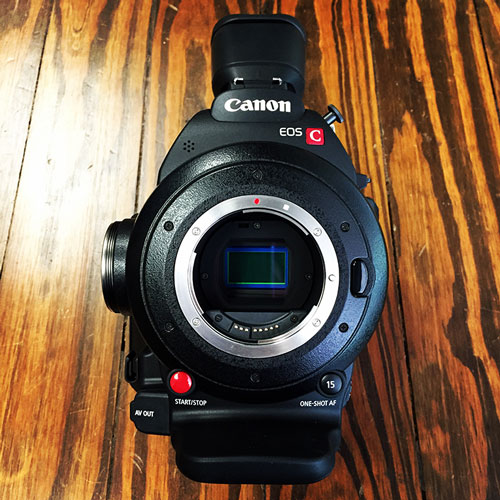 Canon C100 Mark II Cinema EOS Camera For Sale- 0202C002