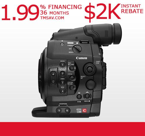 Canon EOS C300 Cinema Camcorder