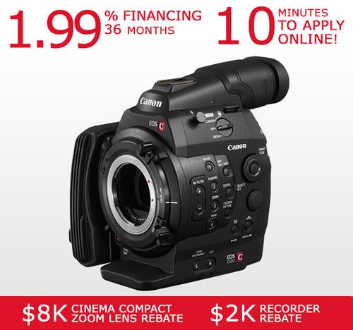 Canon EOS C500 Cinema Camcorder