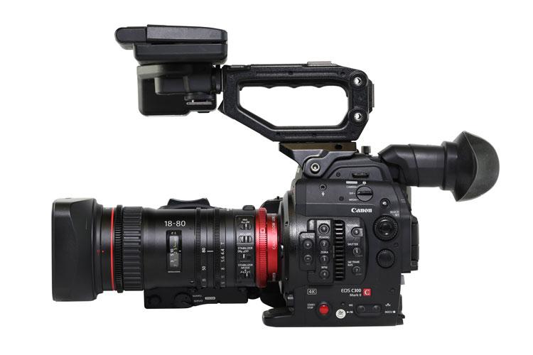 Canon C300 Mark II Cinema Camera & CN-E18-80mm Compact-Servo Lens