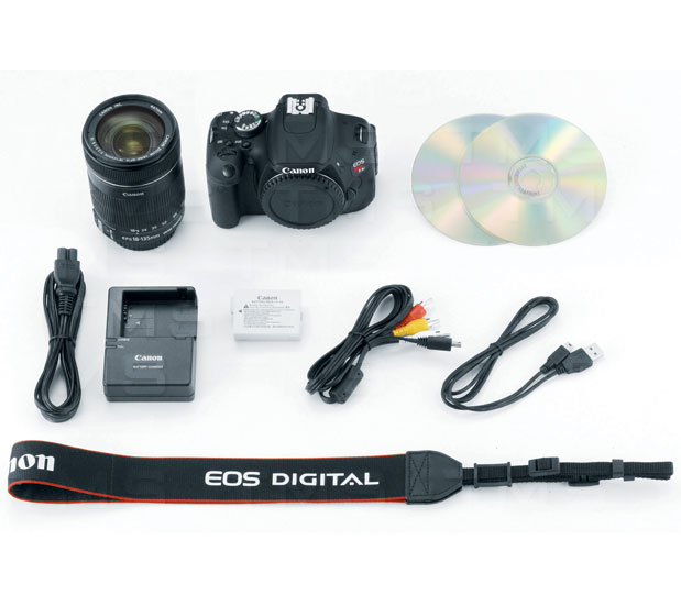 Canon EOS Rebel T3i w/ 18-135mm Lens - 5169B005