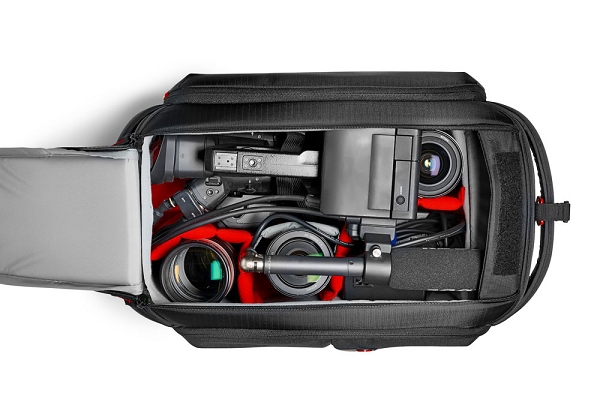 Manfrotto Pro Light Camcorder Case for Canon EOS C100, C300, C500, &  Panasonic AG-DVX200 Cameras - MB PL-CC-192N
