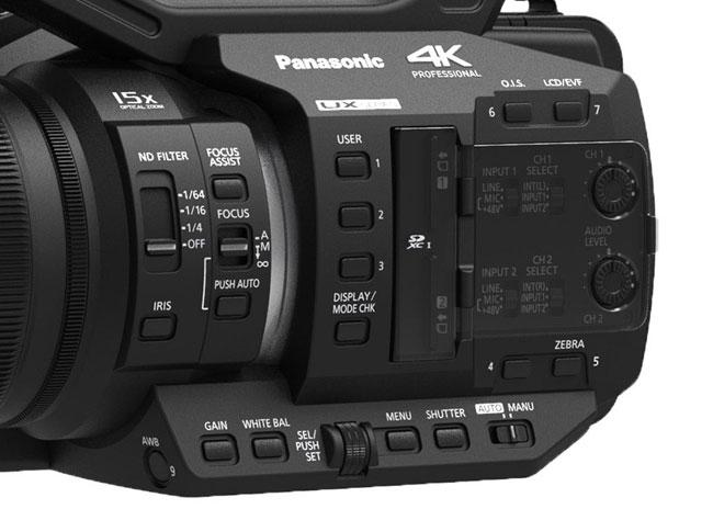 Panasonic AG-UX90 4K UX Series Professional Camcorder