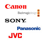 Camcorders By Manufacturer
