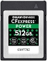 Delkin Devices 512GB CFexpress POWER Memory Card