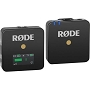 Rode Wireless GO Compact Wireless Microphone System 2.4 GHz Black