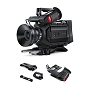 Blackmagic Design URSA Mini 4.6K Digital Cinema Camera (PL) Bundle with Shoulder-Mount Kit & EVF
