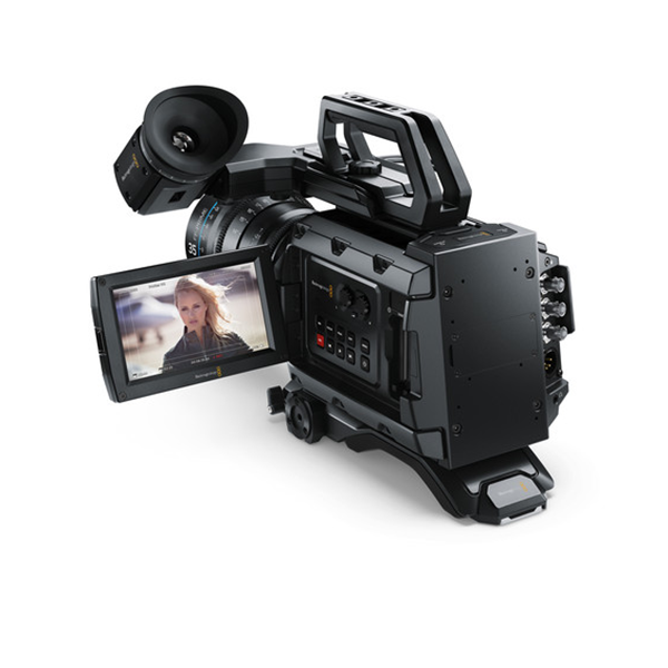 Blackmagic Design URSA Mini 4 6K Digital Cinema Camera (PL) Bundle with  Shoulder-Mount Kit & EVF