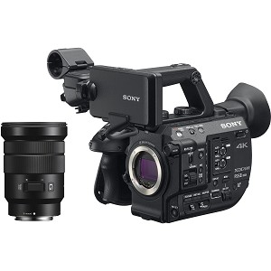 Sony 4K XDCAM Super 35mm Compact Camcorder with 18 to 105mm Zoom Lens - PXW-FS5M2K
