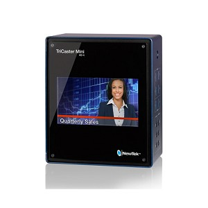 NewTek TriCaster Mini Advanced HD4i Bundle with Control Surface & Travel Case