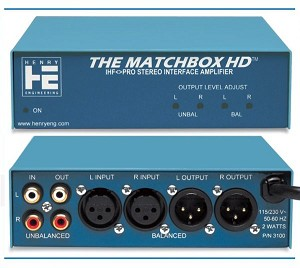 Henry Engineering THE MATCHBOX HD - Stereo Level Matching Interface/Amplifier used
