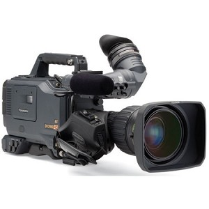 Panasonic AJ-HDX900PAC-2 Camcorder w/ Viewfinder and 17