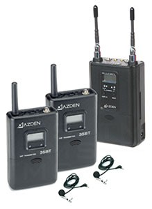 Azden 330ULT Dual-Channel UHF Twin Body-Pack Combo System