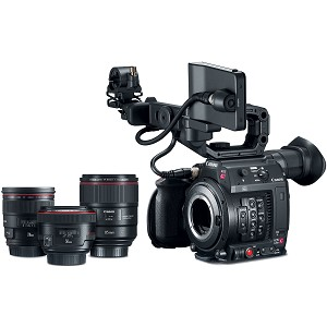 Canon Cinema EOS C200 with Prime Lens Bundle (EF Mount) - 2215C021