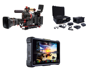 Canon C300 Mark II Zacuto ENG Package w/ Cine-Servo 17-120mm Lens 0635C019 & Atomos Shogun Inferno w/ Atomos Accessory Kit Bundle