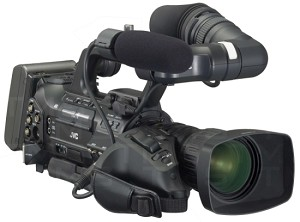 JVC GY-HM700U Professional Compact Shoulder Solid State Camcorder