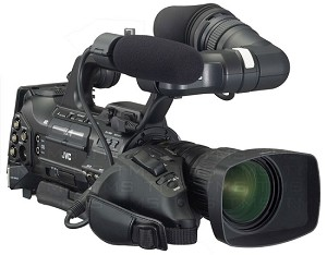JVC GY-HM710U ProHD Solid State Shoulder Camcorder w/ 14x Canon Lens
