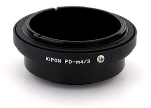 Kipon FD-m4/3 Canon FD Lens to Micro 4/3 Camera Body Adapter