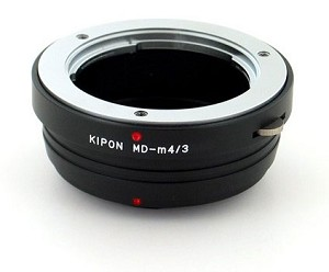 Kipon MD-m4/3 Minolta MD Lens to Micro 4/3 Camera Body Adapter