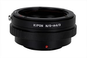 Kipon N/G-m4/3 Nikon G Lens to Micro 4/3 Camera Body Adapter