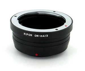 Kipon OM-m4/3 Olympus OM Lens to Micro 4/3 Camera Body Adapter
