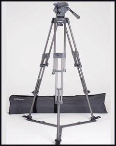 Libec Tripod Kit: H55 Head, T58 Tripod, SP-1 Spreader, TC-50 Case