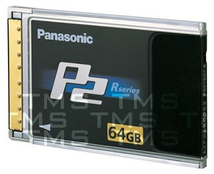 Panasonic 64GB P2 Solid State Memory Card