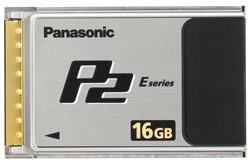 Panasonic AJ-P2E016XG 16GB E-Series P2 Memory Card OPEN BOX
