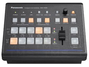 Panasonic AW-HS50 Sub-Compact HD/SD Live Switcher B-Stock