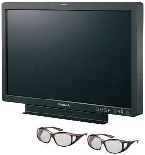 Panasonic BT-3DL2550 25.5-Inch 3D Production Display Monitor