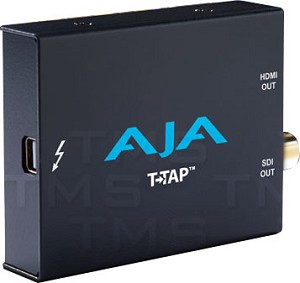 AJA Thunderbolt Powered SDI and HDMI Output - T-TAP