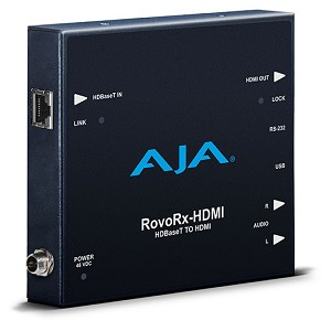AJA RovoRx-HDMI HDBaseT to HDMI Receive and Deliver with RovoCam Support