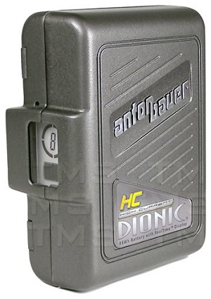 Anton Bauer Dionic HC 14.4v 91Wh Gold Mount Battery