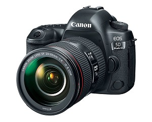 Canon EOS 5D Mark IV DSLR Camera w/ 24-105mm Lens - 1483C010