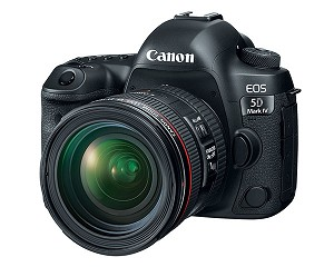 Canon EOS 5D Mark IV DSLR Camera w/ 24-70mm Lens - 1483C018