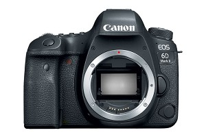 Canon 6D Mark II Full-Frame CMOS DSLR - 1897C002