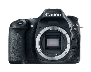 Canon EOS 80D DSLR Camera Body - 1263C004